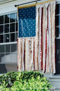 Ribbon Flag Banner