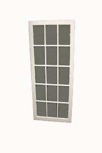 White Paned Window