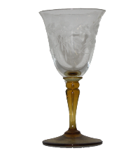Vintage Sherry Glass