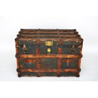 Leather Larry Trunk