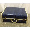 Vintage Dark Blue Suitcase