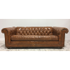Vintage Weathered Chesterfield Sofa