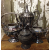 Set: 4 Assorted Vintage Silver & Pewter