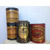 Vintage Cans, Set of 4