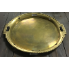 Vintage Large Brass Tray