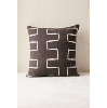 Black & White Dbl. Sided Mudcloth Pillows