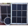 Chalkboard Window Frames