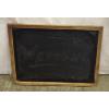 Wood Rimmed Vintage Schoolroom Style Chalkboard