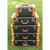 2 Vintage Luggage: Small & Large