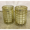 Set: 2 Mercury Candle Holders