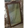 Vintage Gold Chippy Dresser Mirror