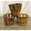 Set: Three Mini Bushel Baskets