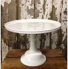 Tall White Cake Pedestal