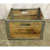 Vintage Wooden Dairy Crate