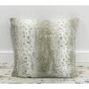 Grey Fur Pillow