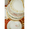 Vintage Assorted Floral China Salad/Dessert Plates