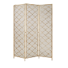 Gold Deco Metal Wire Panel Screen