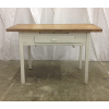 Vintage Butcher Block Top Table