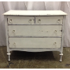 Vintage White Chippy Dresser