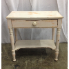 Vintage Chippy Pink Accent Table