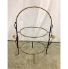 Vintage Two Tier Plate Stand