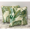 Set Of Two: Tropical Throw Pillows