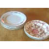 Vintage Assorted Floral China Bread & Butter Plates