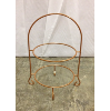 Rose Gold Two Tier Plate Stand