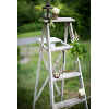 Vintage Chippy Blue Wooden Ladder