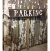 Staked Parking Sign