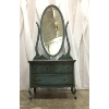 Petite Blue Distressed Vanity