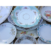Assorted Vintage Floral China Serving Bowls & Platters