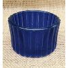 Set of 6: Cobalt Blue Tea Light Candle Holders