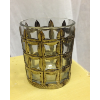 Industrail Style Basket Votive Candle Holder