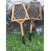 Set of Two: Vintage Tennis Rackets