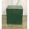 Vintage Green Wooden Milk Box