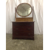 Vintage Chippy Mirror Dresser