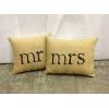Mr. & Mrs. Petite Pillows