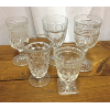 Assorted Clear Vintage Goblets
