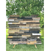 Reclaimed Vintage Wood Backdrop