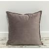 Dutsy Plum Velvet Throw Pillow