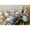 1 Dozen Vintage Assorted Tea Vessels