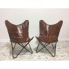 Set of 2: Butterfly Chairs