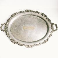 Silver Serving Platter