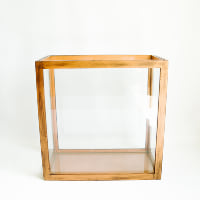 Glass Display Box, Rectangle
