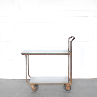 Earl Industrial Bar Cart