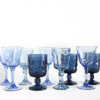Blue Goblets