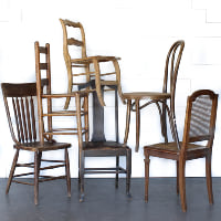 Mismatched Dining Chair