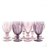Purple Goblets