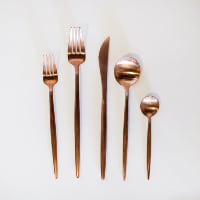 Copper Moda Flatware - 5 pc. setting